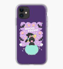 Hocus POCUS! Lucky the Black Cat iPhone Case