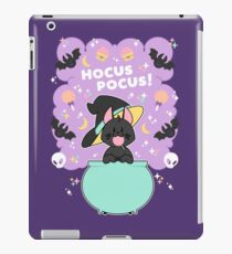 Hocus POCUS! Lucky the Black Cat iPad Case/Skin