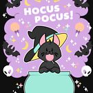 Hocus POCUS! Lucky the Black Cat by PupcakesCupcats