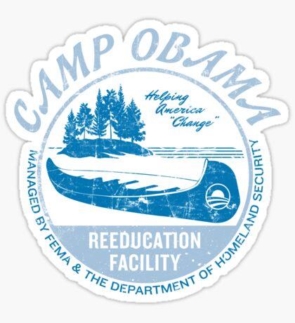 Camp Obama Sticker