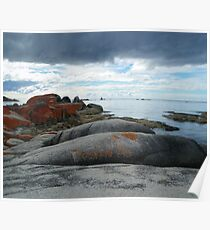 The unique Bay of Fires, Tasmania Poster