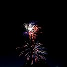 Rockets Red, White & Blue Glare by mojo1160