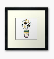 Herbal tea Framed Print
