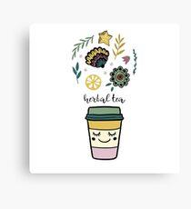 Herbal tea Canvas Print