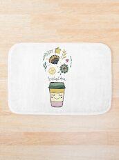 Herbal tea Bath Mat