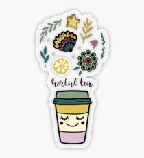 Herbal tea Transparent Sticker