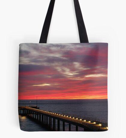 Sunrise Lorne Pier, Great Ocean Rd Tote Bag