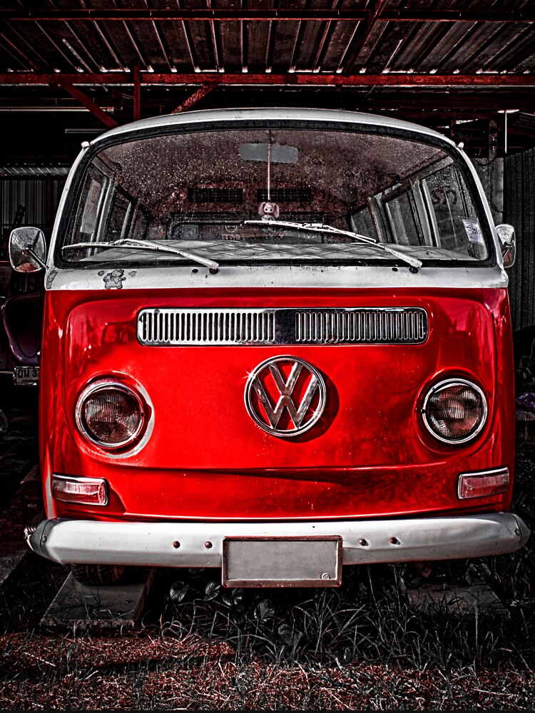 Volkswagen combi Red | Unisex T-Shirt