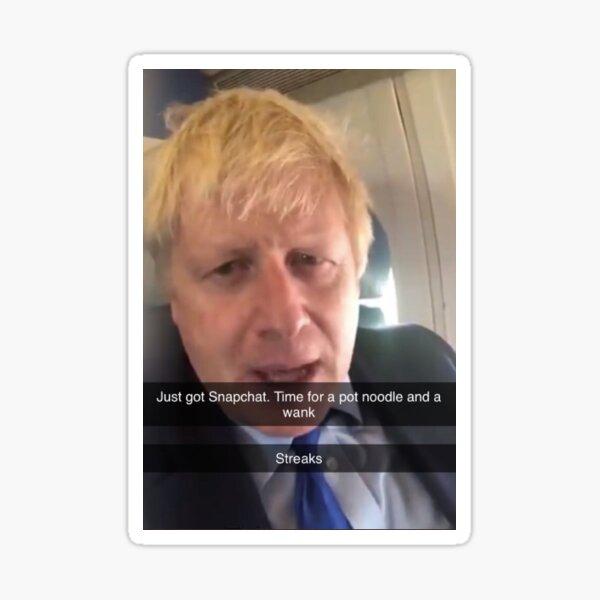 Boris Johnson (daddy) Sticker