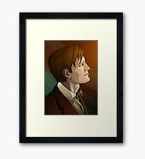 The Eleventh Doctor Framed Print