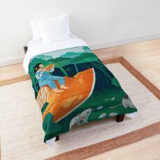 Pumpkin harvest Comforter