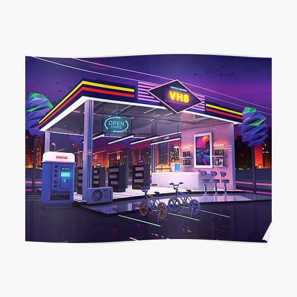 VHS Video Store Poster