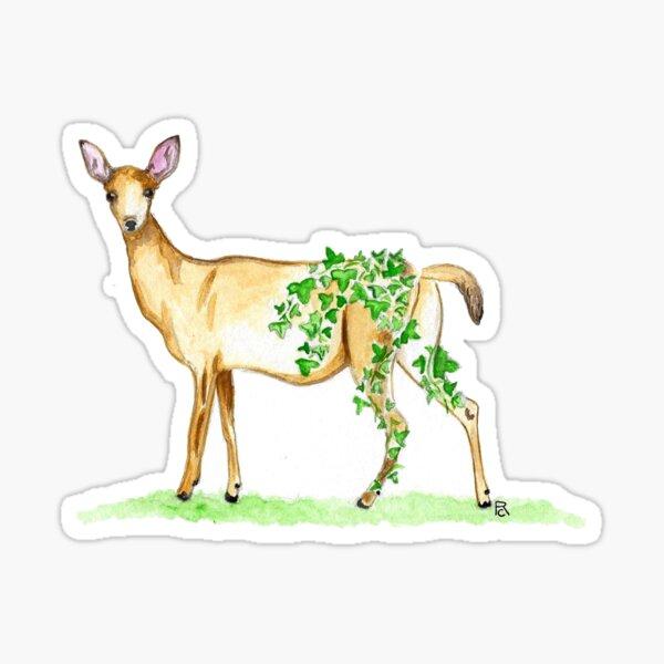 Ivy Deer Sticker