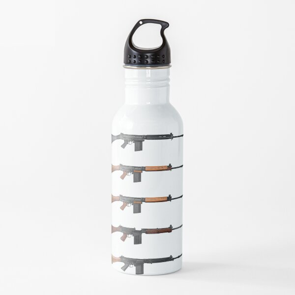 FN FAL - Right Arm of the Free World (1) Water Bottle