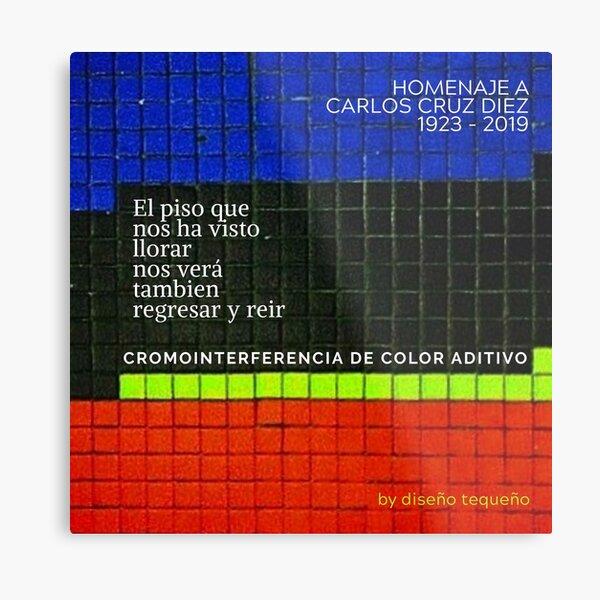 Cruz-Diez 1923-2019 Lámina metálica