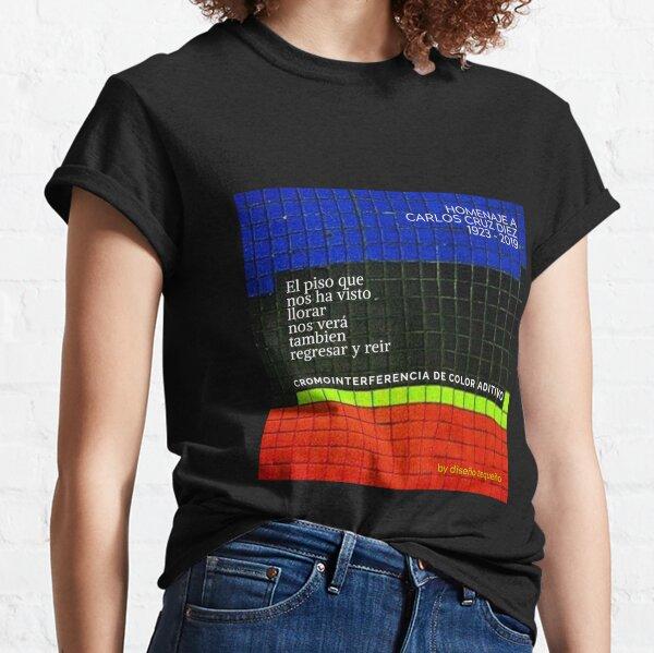 Cruz-Diez 1923-2019 Camiseta clásica