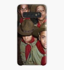 Troop 446 Boy Scouts meeting in Chicago, 1942 Case/Skin for Samsung Galaxy