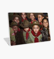 Troop 446 Boy Scouts meeting in Chicago, 1942 Laptop Skin