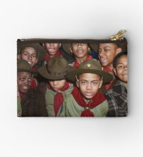 Troop 446 Boy Scouts meeting in Chicago, 1942 Zipper Pouch