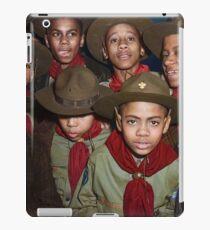 Troop 446 Boy Scouts meeting in Chicago, 1942 iPad Case/Skin