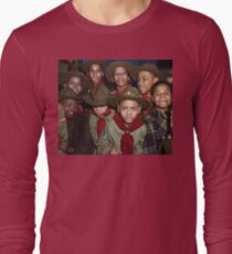 Troop 446 Boy Scouts meeting in Chicago, 1942 Long Sleeve T-Shirt