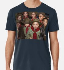 Troop 446 Boy Scouts meeting in Chicago, 1942 Premium T-Shirt