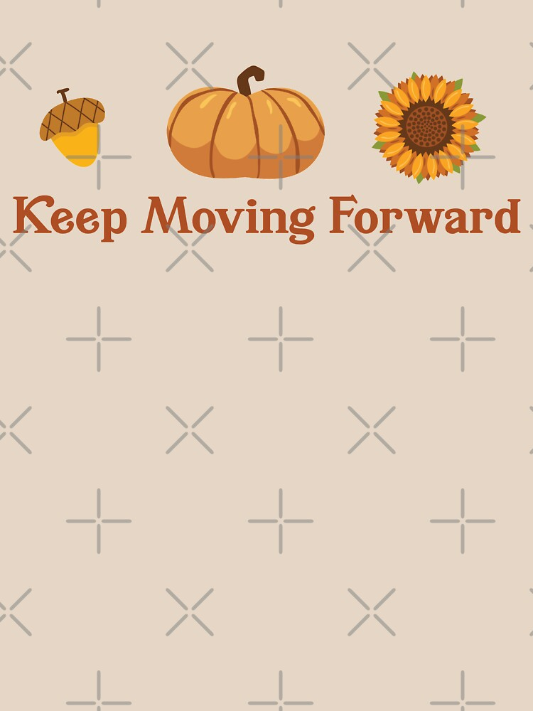 Keep Moving Forward + Acorn, Pumpkin, Sunflower (Ashley Scott Designs - Fall Collection) by ashleyscottart