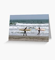When things get rough, the tough get going! Greeting Card