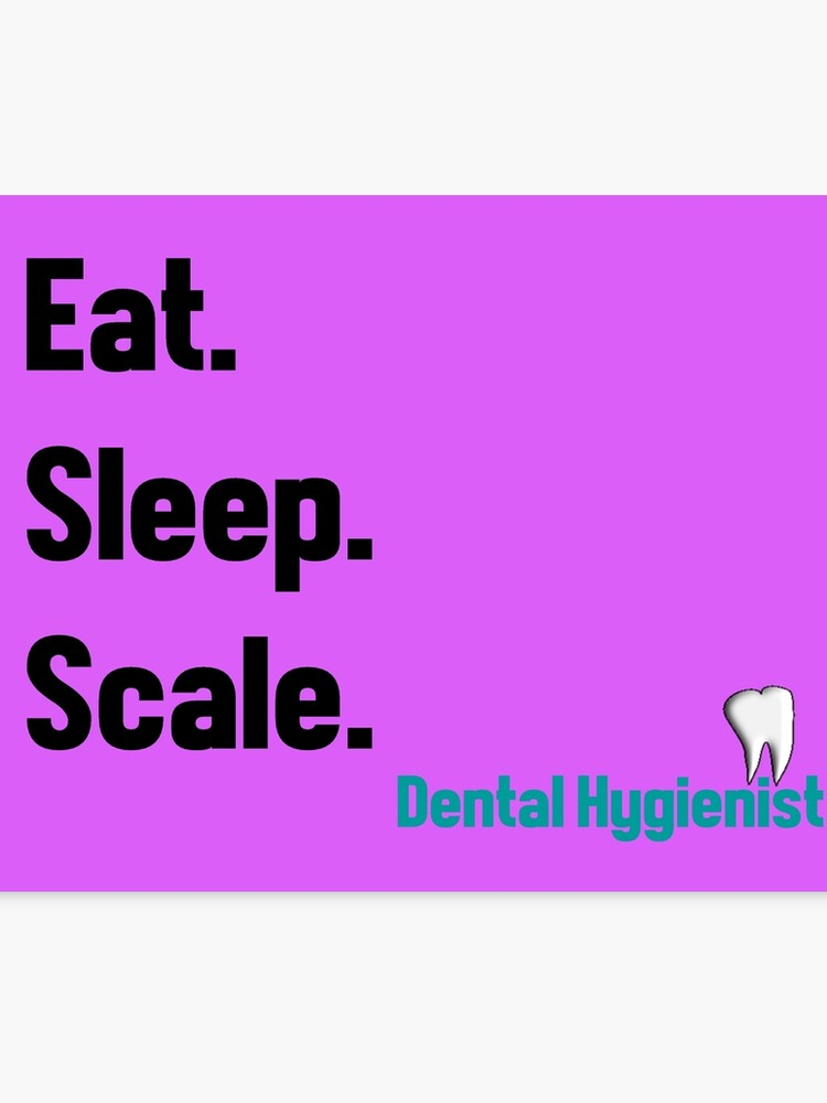 Funny Dental Hygienist Quotes | Canvas Print