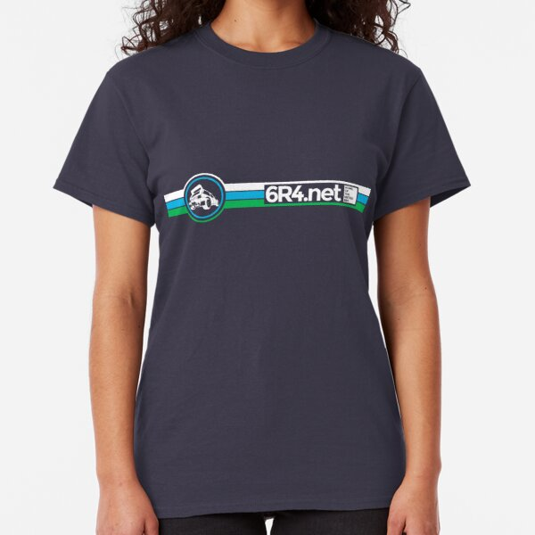 6R4.net - Home of the Metro 6R4 V.2 Classic T-Shirt