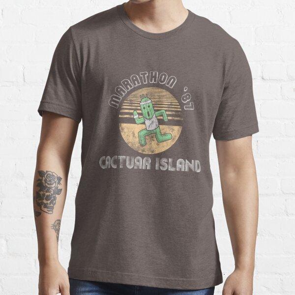 Cactuarathon- Final Fantasy Parody Essential T-Shirt