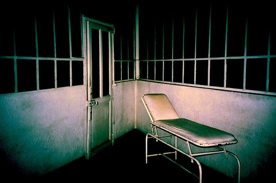 Blue asylom by Nicolas Noyes