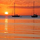 Roatan Sunset by Beth Mason