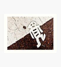 Little Road Man Art Print