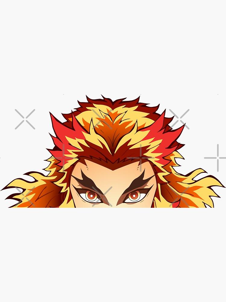 Kyoujurou Rengoku Peeker   The Flame Pillar   Demon Slayer by raven-cw