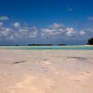 Sandbank, Spanish Wells, Eleuthera, Bahamas by Shane Pinder