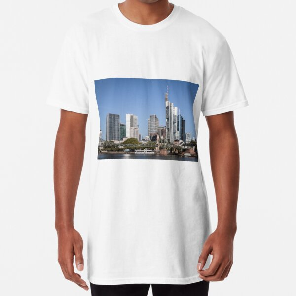 Frankfurt Skyline Long T-Shirt