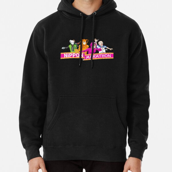 Nippon Marathon: All Four Contestants Pullover Hoodie