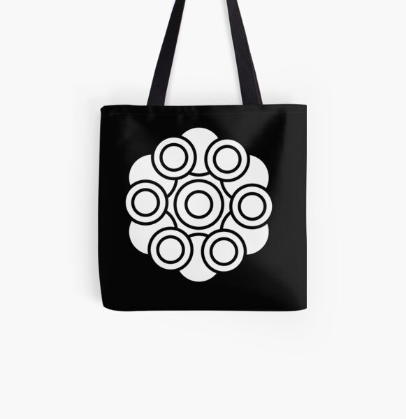 Colour your own mandala All Over Print Tote Bag