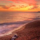 Sunset at Burton Bradstock by Rob Lodge