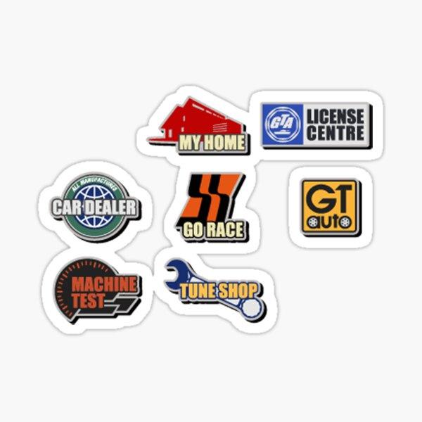 Gran Turismo 3: Icônes de menu Sticker