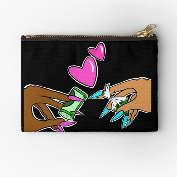 Plug Love Zipper Pouch