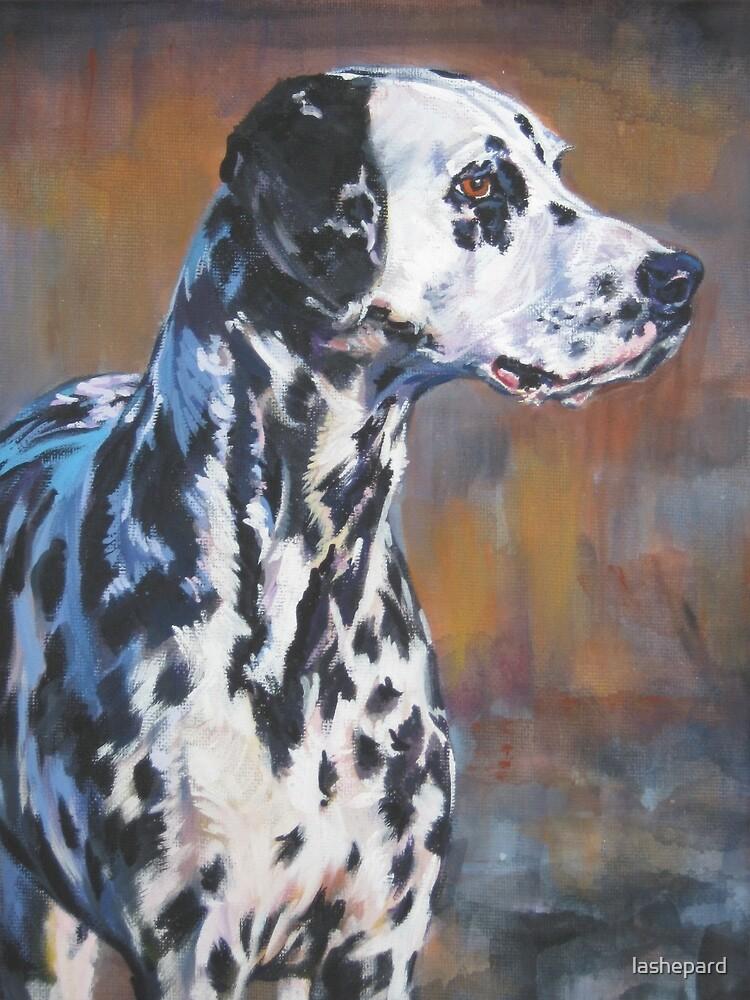 Dalmatian Fine Art Painting by lashepard