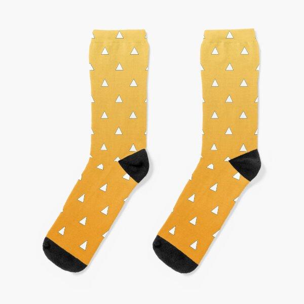 Zenitsu Pattern Socks