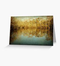 River Cypress Greeting Card