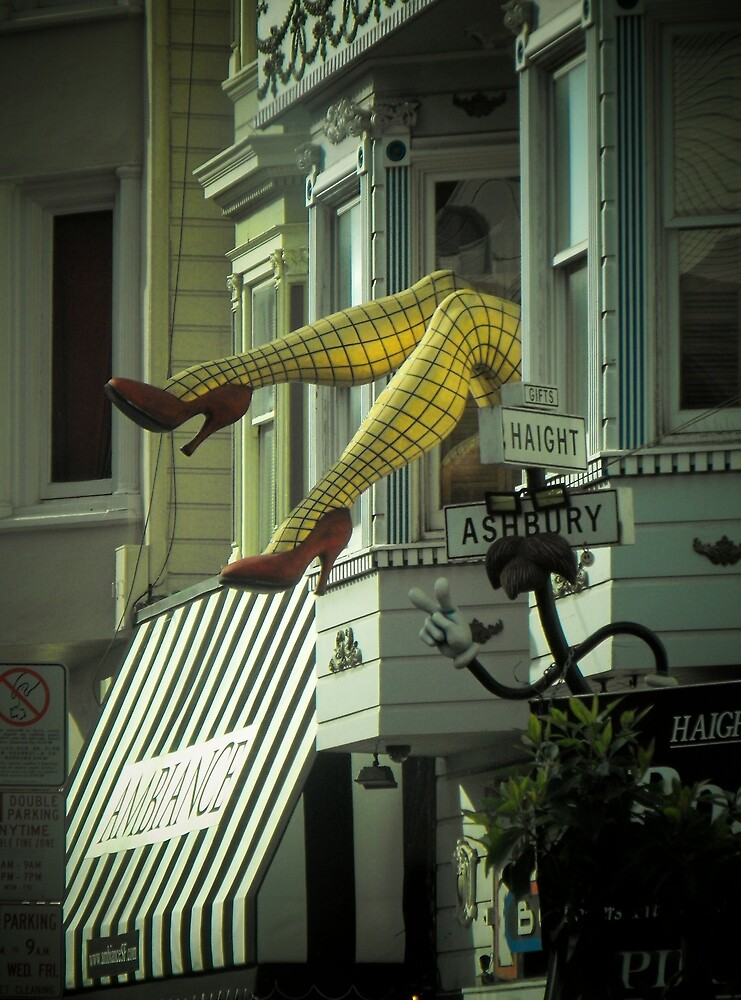 Don't Haight these legs by Crystal Fobare