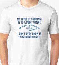 My Level Of Sarcasm T-Shirt