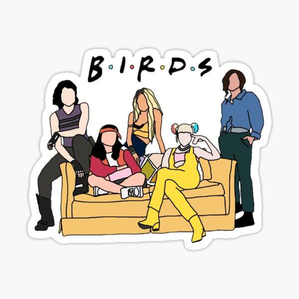 The Birds Of Prey Sticker