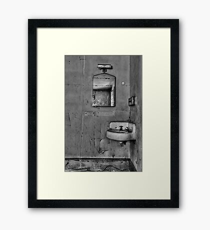 Wash Away Your Fears Framed Print