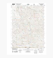USGS Topo Map Oregon Oregon Caves 20110829 TM Photographic Print